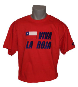 Chile-viva-la-roja-shirt-b in Chile Shirt Viva La Roja