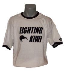 Neuseeland-fighting-kiwi-tshirt in Neuseeland Shirt All Whites & Fighting Kiwi